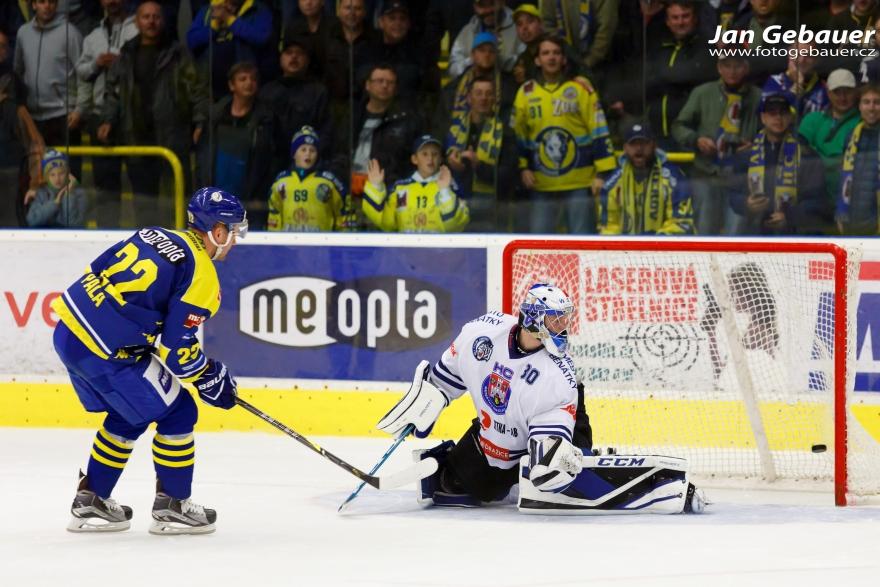 WSM liga - 9. kolo: HC ZUBR Přerov - HC Benátky nad Jizerou